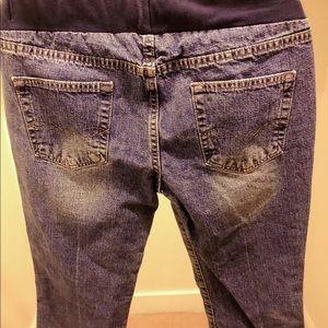 Motherhood Maternity Jeans - Ankle maternity jeans